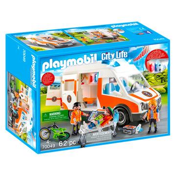 Playmobil: Mentőautó fénnyel és hanggal - 70049