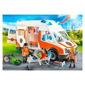 Playmobil: Mentőautó fénnyel és hanggal - 70049 - . kép