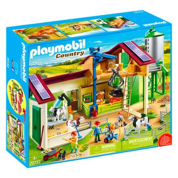 Playmobil: Farm és siló nagy játékszett - 70132 - . kép