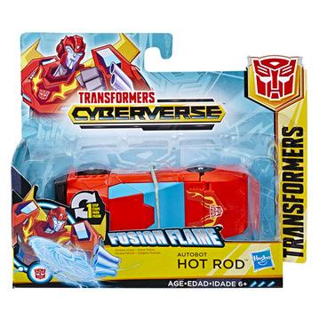 Transformers Fusion Flame Autobot: Hot Rod akciófigura