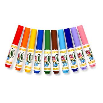 Crayola Color Wonder: maszatmentes filctoll utántöltő 10 darabos - . kép