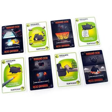 Robbanó cicák kártyajáték - . kép