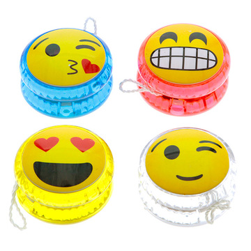 Emoji mintás jojó -  többféle