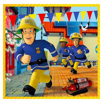 Trefl: Sam, a tűzoltó 3 az 1-ben puzzle - . kép