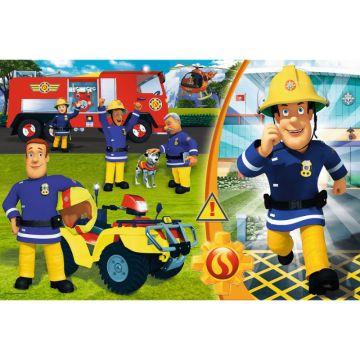 Trefl: Sam, a tűzoltó 24 darabos maxi puzzle  - . kép