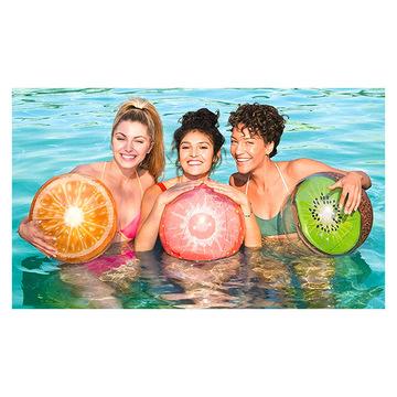 Bestway: Felfújható gyümölcs mintás strandlabda - többféle 46 cm - . kép