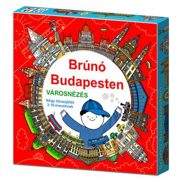 Brúnó Budapesten - Városnézés társasjáték