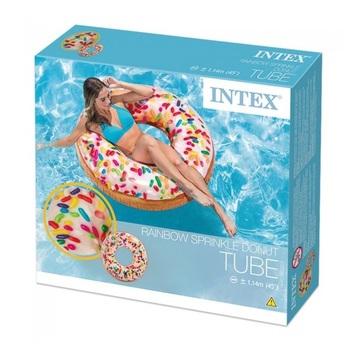 Intex: Szórócukros fánk úszógumi - 99 cm