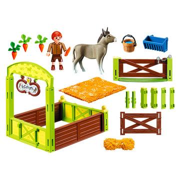 Playmobil: Szilaj - Nyiszi és Konok úr karámmal 70120 - . kép