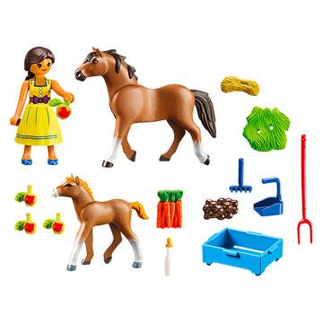 Playmobil: Szilaj: Pru és a lovai 70122 - . kép