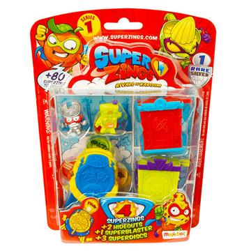 SuperZings: 4 darabos szett - többféle