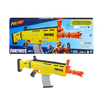 Nerf: Fortnite AR-L fegyver 20 darab szivacslövedékkel
