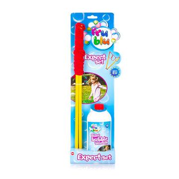 Fru Blu: Set baloane de săpun cu băţ - diferite