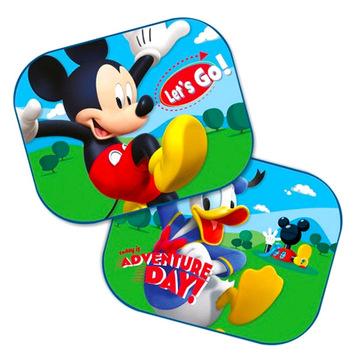 Mickey egér: 2 darabos autós napellenző