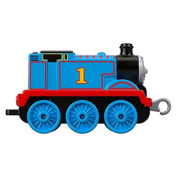 Thomas Trackmaster: Push Along Metal Engine - Locomotiva Thomas - .foto