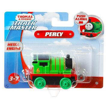 Thomas Trackmaster: Push Along Metal Engine - Percy  - . kép