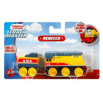 Thomas Trackmaster: Push Along Metal Engine - Locomotiva Rebecca - .foto