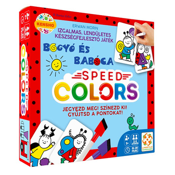 Bogyó és Babóca: Speed Colors társasjáték