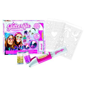 Glitterific: csillám és csillámszívó szett - . kép