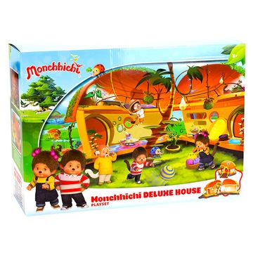 Monchhichi: ház deluxe játékszett - . kép