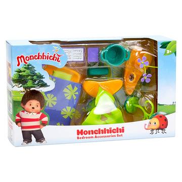 Monchhichi: hálószoba játékszett - többféle - . kép