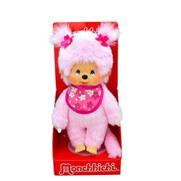 Monchhichi: cseresznyevirág lány plüssfigura - 20 cm - . kép