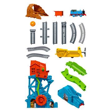 Thomas, a gőzmozdony: barlangomlás pályaszett - . kép