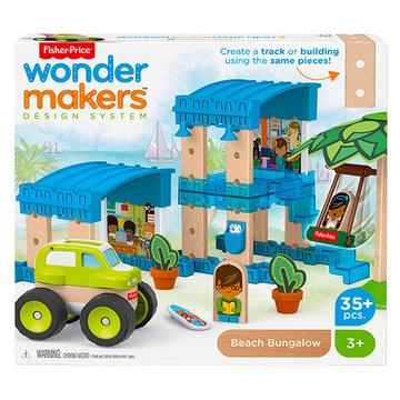 Wonder Makers: Úticélok szettek - tengerparti bungaló