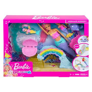 Barbie Dreamtopia: bébiszitter játékszett - . kép
