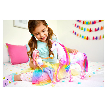 Barbie Dreamtopia: csillámfény unikornis babával  - . kép