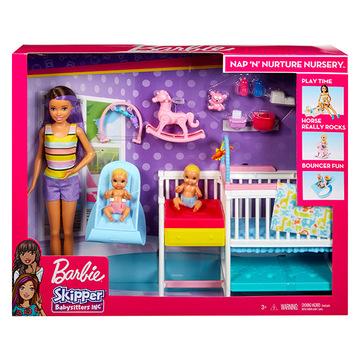 Barbie Skipper: bébiszitter gyerekszoba szett - . kép