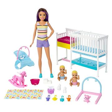 Set de joacă Camera pentru copii, Barbie Skipper Babysitters - .foto