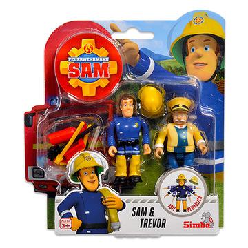 Sam, a tűzoltó: 2 darabos figura - Sam és Trevor