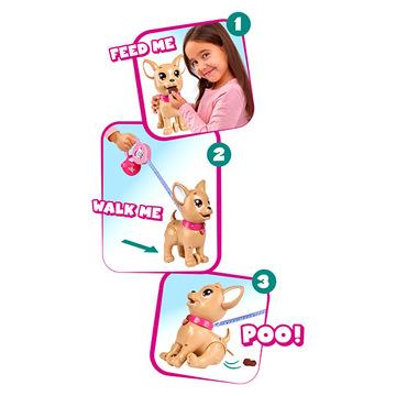 Chi Chi Love: Poo Poo Puppy, kakiló kutyus kiegészítőkkel - . kép