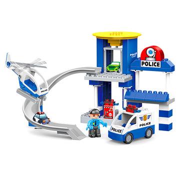 Luna Blocks: Rendőrségi építőjáték - 53 darabos - . kép