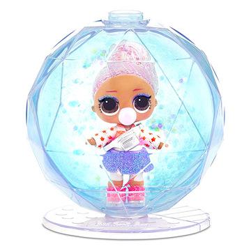 L.O.L Surprise: Glitter Globe meglepetés baba - . kép