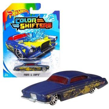 Hot Wheels: Színváltós FishD and ChipD kisautó