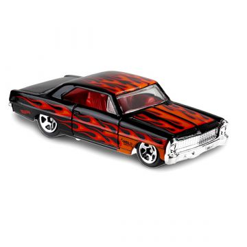 Hot Wheels Flames: 66 Chevy Nova kisautó