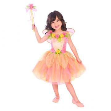 Barackvirág tündér jelmez 6-8éveseknek - 128cm