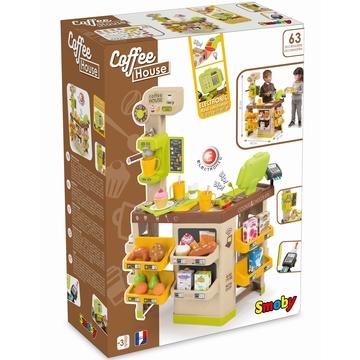 Smoby: Kávéház játékszett kiegészítőkkel - . kép
