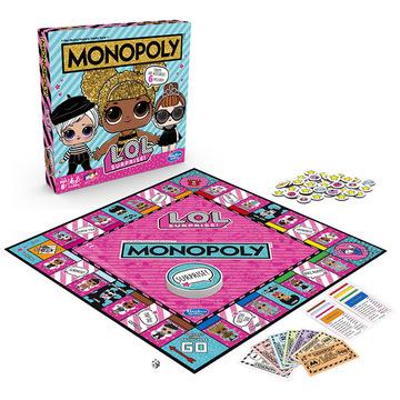 Monopoly - L.O.L Surprise - angol nyelvű - . kép