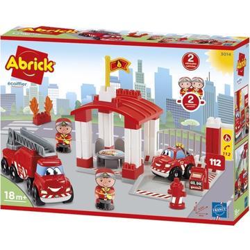 Abrick: Tűzoltóállomás építőjáték