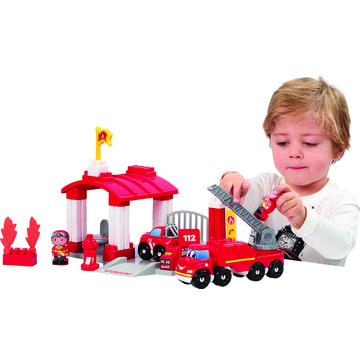 Abrick: Tűzoltóállomás építőjáték - . kép