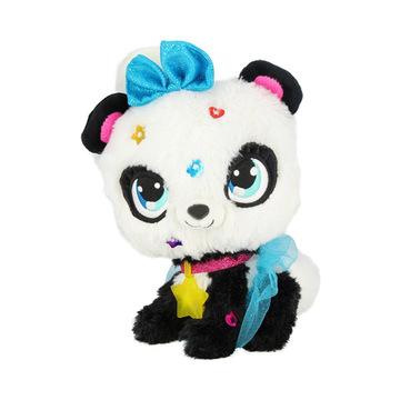 Shimmer Stars: Pixie panda plüssfigura varázspálcával - . kép