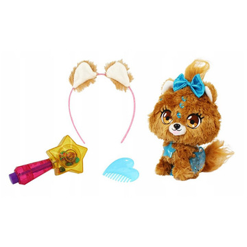 Shimmer Stars: Bubble kutyus plüssfigura varázspálcával - . kép