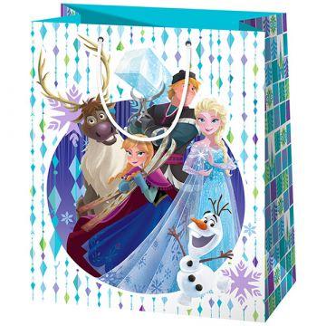Disney hercegnők Jégvarázs álló dísztasak - 40 x 20 x 55 cm