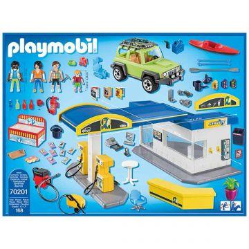 Playmobil: Benzinkút  70201 - . kép
