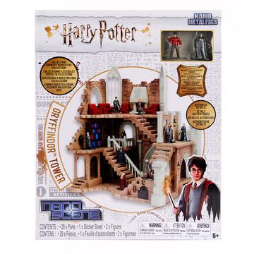 Harry Potter: Griffendél ház torony, fém figurákkal