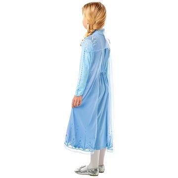 Disney Hercegnők Jégvarázs: Elsa utazós ruhája - 128 cm - . kép