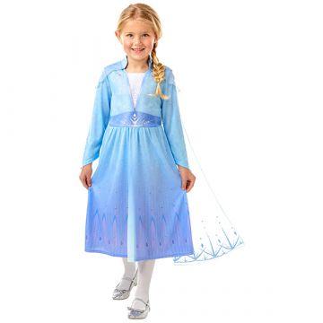 Disney Hercegnők Jégvarázs: Elza utazós ruhája - 104 cm